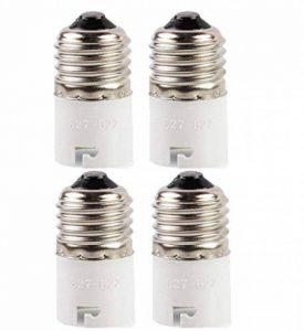 SFTlite 4x Adaptateur base de lampe converter E27 douille à B22 base de la lampe pour lampes à LED, halogène, à économie d'énergie de la marque SFTlite image 0 produit