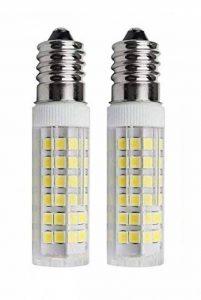 SFTlite [Lot de 2] ampoules E14 SES Ampoule LED 5 W – 500LM – Cool Blanc 6000K Angle de faisceau360° – Ampoules LED à économie d'énergie Petit culot à vis avec super Bright LED Lampes [équivalent à 45 W Ampoule halogène AC 220–240 V non dimmable] [Classe image 0 produit