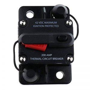 Sharplace Interrupteur Coupe-Circuit DC 12V 42V Commutateur Disjoncteur - 200A de la marque Sharplace image 0 produit
