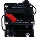 Sharplace Interrupteur Coupe-Circuit DC 12V 42V Commutateur Disjoncteur - 200A de la marque Sharplace image 2 produit