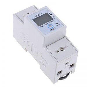 Sharplace Monophasée D'électricité Sous Compteur Digital kWh DIN Rail Power 80a Modèles de la marque Sharplace image 0 produit