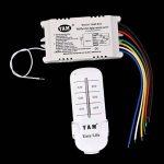 Sharplace ON/OFF 4-canaux Interrupteur Lumière Sans Fil Numérique + Télécommande 220V-240V de la marque Sharplace image 2 produit