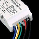 Sharplace ON/OFF 4-canaux Interrupteur Lumière Sans Fil Numérique + Télécommande 220V-240V de la marque Sharplace image 4 produit