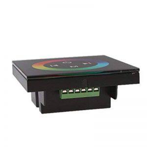 Sharplace Régulateur de Gradateur à LED RGB à Ecran Tactile Mural pour Lampe à Rayons de la marque Sharplace image 0 produit