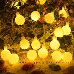ShinePick Guirlande Lumineuse 60 Boule LED, 9.5M Fil Souple Imperméable 8 Modes Eclairage Lampes pour Maison, Jardin, Festival Décoration Prise EU (Blanc Chaud) de la marque ShinePick image 1 produit