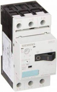 Siemens 3rv1011–1ha10Disjoncteur Taille S00pour protection du moteur, Class 10une Version 5.5. 8A n Release 104A Connecteurs Connexion Standard Capacité de commutation, Blanc de la marque Siemens image 0 produit