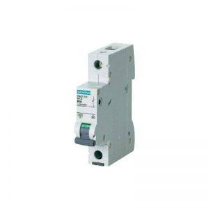 Siemens 5sl6–Disjoncteur Automatique magnétothermique 230/400V 6kA 1pôle C-16A de la marque Siemens image 0 produit