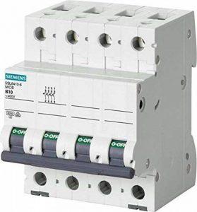 Siemens 5sl6–magnéto-thermique 400V 6kA 4pôles C 20A de la marque Siemens image 0 produit