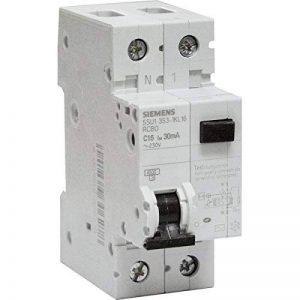 Siemens - Disjoncteur différentiel électrique 30 mA 16 A Type AC de la marque Siemens image 0 produit