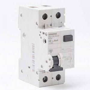 Siemens - Disjoncteur différentiel électrique 30 mA 20 A Type AC de la marque Siemens image 0 produit