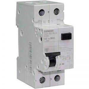 Siemens - Disjoncteur différentiel électrique 30 mA 32 A Type AC de la marque Siemens image 0 produit