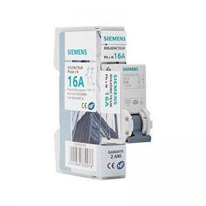 Siemens - Disjoncteur électrique phase + neutre 16A de la marque Siemens image 0 produit