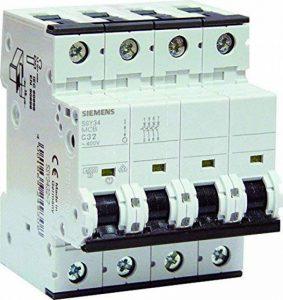 Siemens - Disjoncteur électrique tétrapolaire 32 A de la marque Siemens image 0 produit