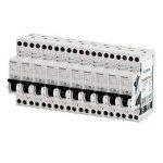 Siemens - Lot de 10 Disjoncteurs électriques phase + neutre 20A de la marque Siemens image 1 produit