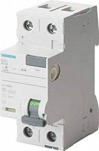Siemens SENTRON–Interrupteur différentiel 5sv 70mm classe–a 2pôles 40A 30mA de la marque Siemens image 0 produit