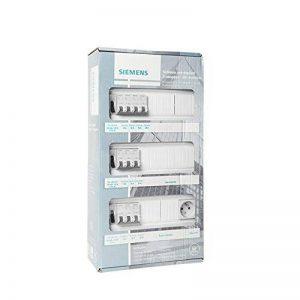 Siemens - Tableau électrique pré-équipé 3 rangées 39 modules 10 disjoncteurs 3 interrupteurs différentiels + prise 2P + T de la marque Siemens image 0 produit