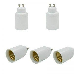 SIENOC 5x Adaptateur GU10 à E27 Ampoule de lampe de la marque SIENOC image 0 produit