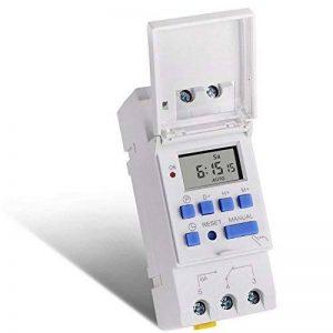 SINOTIMER Électronique hebdomadaire à 7 jours programmable Digital TIME SWITCH Relay Timer Control AC 220V 16A Din Rail Mount de la marque SINOTIMER image 0 produit