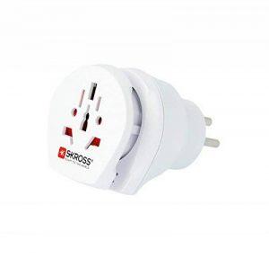 Skross 1.500216 Adaptateur de voyage avec prise électrique Blanc de la marque Skross image 0 produit