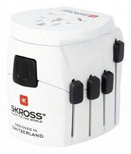Skross 1103175 Adaptateur Prise d'alimentation Blanc de la marque Skross image 0 produit