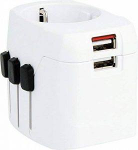 Skross Adaptateur de voyage 1.302540monde Pro Light USB Blanc de la marque Skross image 0 produit