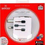 Skross Adaptateur de voyage 1.302540monde Pro Light USB Blanc de la marque Skross image 4 produit