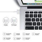 SkyGrand Chargeur Macbook Pro, Adaptateur Secteur MagSafe 2 DE 60W pour MacBook Pro avec Écran Retina 13 Pouces - À partir de la Fin de 2012 et Après (Connecteur de Forme en T) de la marque SkyGrand image 4 produit