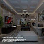 Smart Lumière interrupteur variateur, teepao Interrupteur variateur Touch Control WiFi Compatible avec Alexa/Google Home/Application Télécommande, soutien Ios Android–Neutre Câble nécessaire de la marque Teepao image 3 produit