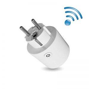 Smart UE Plug - 2.4G WiFi Télécommande Timer Socket Soutien Alexa Echo et Google Home Contrôle vocal Smart Home de la marque wlansmart image 0 produit