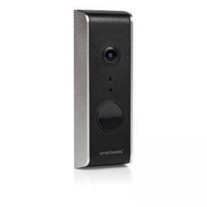 Smartwares DIC-23112 Carillon Wi-Fi Filaire, Noir de la marque Smartwares image 0 produit
