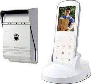 Smartwares VD36W Portier Vidéo sans fil Blanc de la marque Smartwares image 0 produit