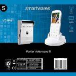 Smartwares VD36W Portier Vidéo sans fil Blanc de la marque Smartwares image 1 produit