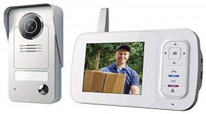 Smartwares VD38W Portier vidéo sans fil, 120 mètres de portée de la marque Smartwares image 0 produit