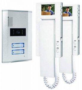 Smartwares VD62 SW 10.007.55 Portier vidéo couleur/Visiophone/Interphone vidéo 2 combinés de la marque Smartwares image 0 produit