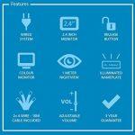 Smartwares VD62 SW 10.007.55 Portier vidéo couleur/Visiophone/Interphone vidéo 2 combinés de la marque Smartwares image 4 produit