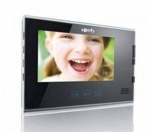 Somfy - Moniteur supplémentaire pour V250 V400 et V600, Noir, 7 Pouces de la marque Somfy image 0 produit