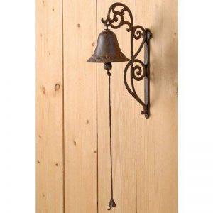 Sonnette, clochette de porte en fonte marron antique, style de maison de campagne de la marque Boltze image 0 produit