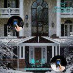 Sonnette Sans Fil Exterieur EECOO Sonnette de Porte Eléctrique LED Bleu, 58 Carillons 4 Modes Carillon Sans Fil IP55 Etanche Portée Plus 300m, 1 Emetteur avec Pile et 2 Récepteurs pour Maison Hôtel Bureau Boutique de la marque eecoo image 2 produit