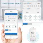 sonoff VARO POW Wi-Fi Wireless Switch On/Off, 16A/3500W avec mesure en temps réel consommation, intelligent application Télécommande Prise, fonctionne avec AAM Montbazon Echo Alexa et Google Home (1pcs) de la marque AMH image 4 produit