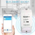sonoff VARO POW Wi-Fi Wireless Switch On/Off, 16A/3500W avec mesure en temps réel consommation, intelligent application Télécommande Prise, fonctionne avec AAM Montbazon Echo Alexa et Google Home (3pcs) de la marque AMH image 4 produit