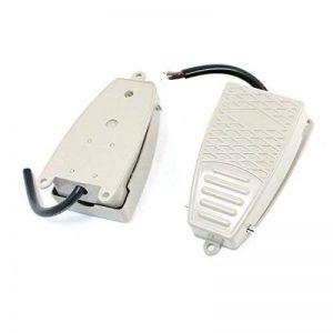 sourcingmap® 2 pièces Câble Connecte SPDT Momentané Antidérapants Pédale Interrupteur 380V 1 de la marque Sourcingmap image 0 produit