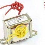 sourcingmap® 220V 50Hz à 12V 3W sortie base AE Transformateur puissance monophasé de la marque sourcing map image 1 produit