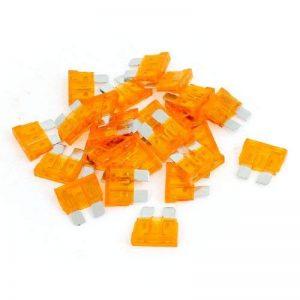 sourcingmap 25 Pièces Orange 40A Automobile Action Rapide Fusibles À Lame pour voiture Moto de la marque Sourcingmap image 0 produit