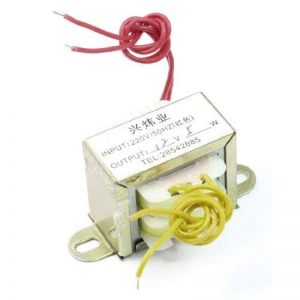 Sourcingmap A13070100ux0421220V 50Hz monophasé EL Core Transformateur de puissance avec câble–Argenté de la marque Sourcingmap image 0 produit