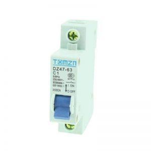 sourcingmap® AC 230/400 V 1A 1 1P Pole Protection contre surcharges Disjoncteur Mini MCB de la marque sourcing map image 0 produit