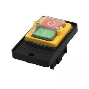 sourcingmap® KAO5 220/380V 10A Inter verrouillage I/O Commutateur De Bouton Poussoir pour Machine Outil de la marque Sourcingmap image 0 produit