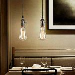 Splink Vintage Douille Culot de Lampe Support pour Ampoule E27 Avec Interrupteur en Cuivre Laiton Couleur Noir … de la marque Splink image 3 produit
