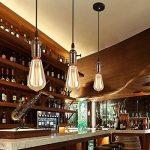 Splink Vintage Douille Culot de Lampe Support pour Ampoule E27 Avec Interrupteur en Cuivre Laiton Couleur Noir … de la marque Splink image 4 produit