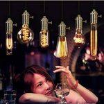 Splink Vintage Support pour Ampoule E27 Douille Culot de Lampe Avec Interrupteur en Cuivre Laiton Couleur Bronze de la marque Splink image 4 produit