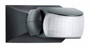 Steinel détecteur de mouvement IS 1 noir, à l'intérieur et l'extérieur, capteur 120°, portée 10m, apparent ou encastré de la marque STEiNEL image 0 produit